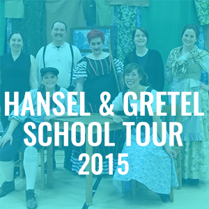 Saskatoon Opera Hansel and Gretel School Tour 2015